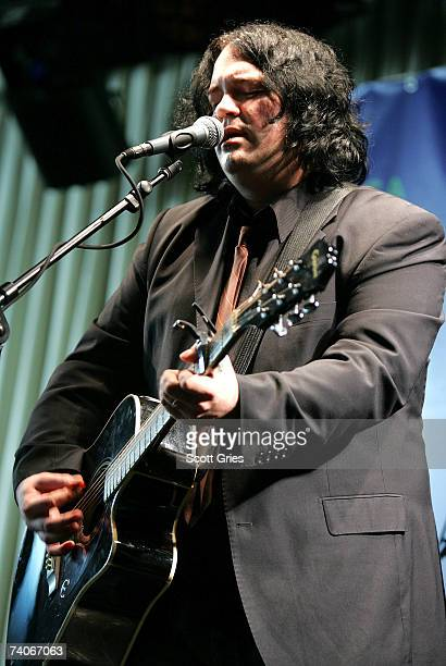 Musician John Auer performs onstage at the ASCAP Tribeca Music Lounge held at the Canal Room during the 2007 Tribeca Film Festival on May 3, 2007 in...