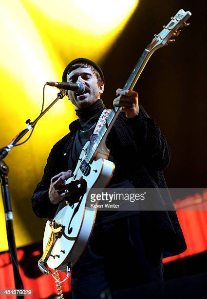 Musician John Baldwin Gourley of Portugal. The Man performs onstage during The 24th Annual KROQ Almost Acoustic Christmas at The Shrine Auditorium on...