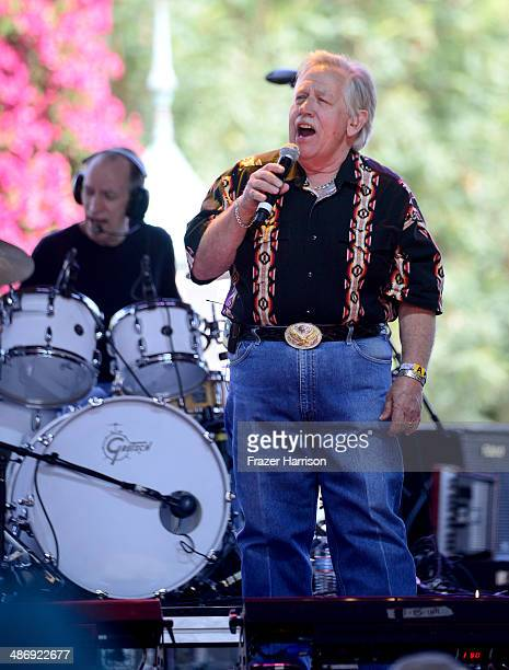 Musician John Conlee performs onstage during day 2 of 2014 Stagecoach California's Country Music Festival at the Empire Polo Club on April 26 2014 in...
