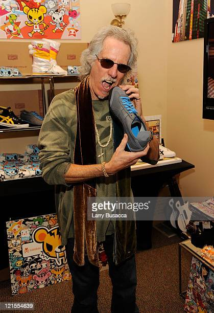Musician John Densmore of The Doors visits the Hollywood Life House Suite on January 18 2009 in Park City Utah