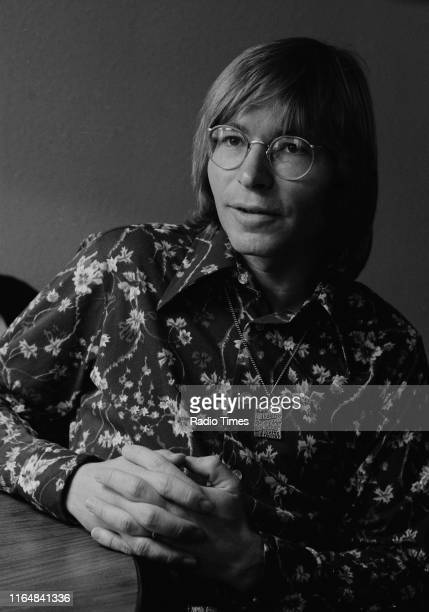 Musician John Denver interviewed prior to the broadcast of the first episode of his BBC television show 'The John Denver Show', March 7th 1973.