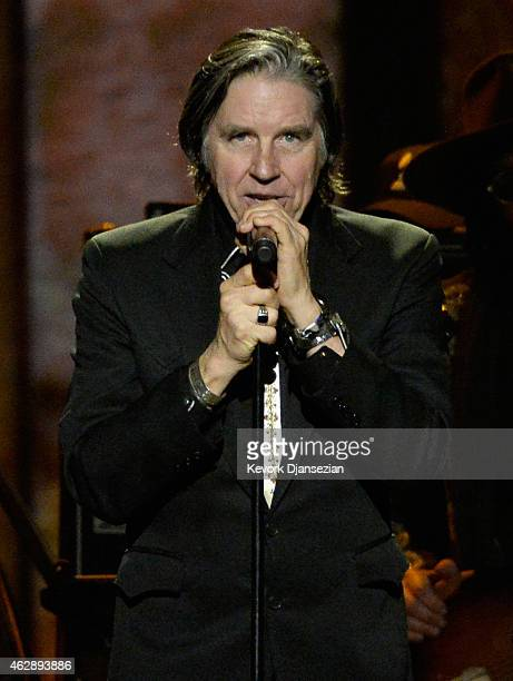 Musician John Doe performs onstage at the 25th anniversary MusiCares 2015 Person Of The Year Gala honoring Bob Dylan at the Los Angeles Convention...