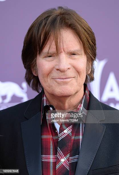 Musician John Fogerty attends the 48th Annual Academy of Country Music Awards at the MGM Grand Garden Arena on April 7 2013 in Las Vegas Nevada