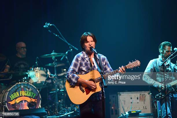 Musician John Fogerty performs onstage at the True Believers Music Showcase during the 2013 SXSW Music Film Interactive Festival at ACL Live on March...
