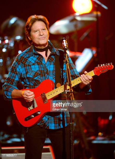 Musician John Fogerty performs onstage during ACM Presents Girls' Night Out Superstar Women of Country concert held at the MGM Grand Garden Arena on...