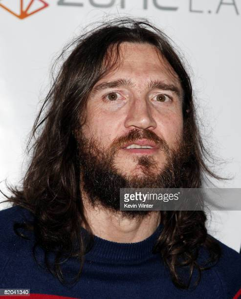 Musician John Frusciante appears at George Clinton's 67th birthday party at Zune on July 22 2008 in Los Angeles California