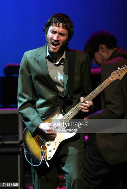 Musician John Frusciante of the Red Hot Chili Peppers performs at the 3rd Annual MusiCares MAP fund benefit at the Music Box in the Henry Fonda...