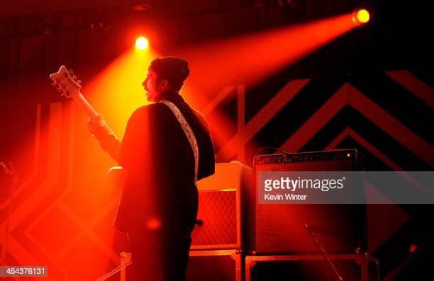 Musician John Gourley of Portugal. The Man performs onstage during The 24th Annual KROQ Almost Acoustic Christmas at The Shrine Auditorium on...