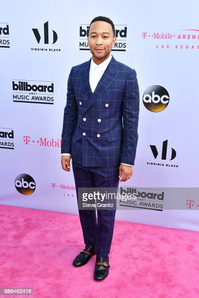 Musician John Legend attends the 2017 Billboard Music Awards at TMobile Arena on May 21 2017 in Las Vegas Nevada
