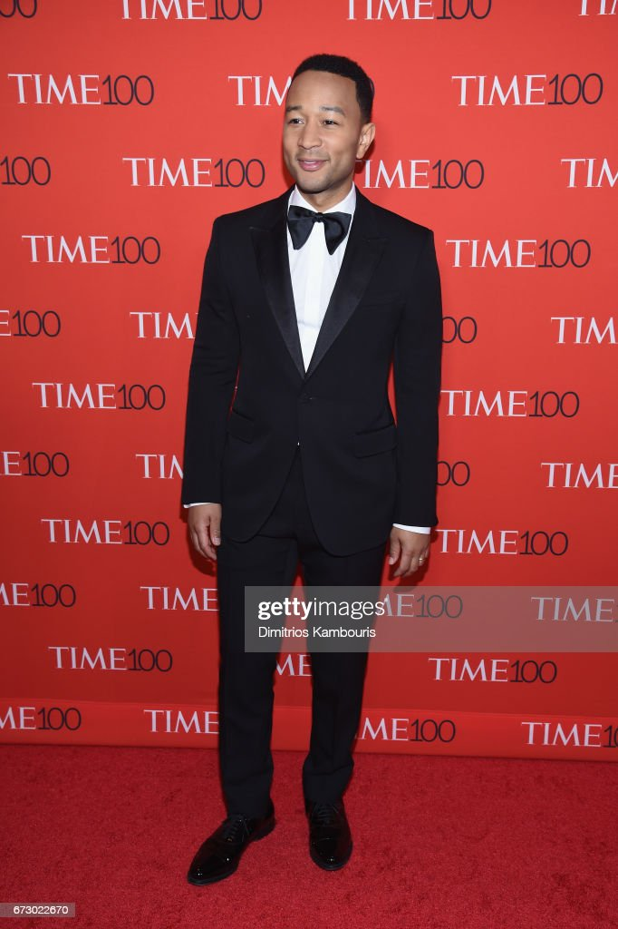 Musician John Legend attends the 2017 Time 100 Gala at Jazz at Lincoln Center on April 25, 2017 in New York City.