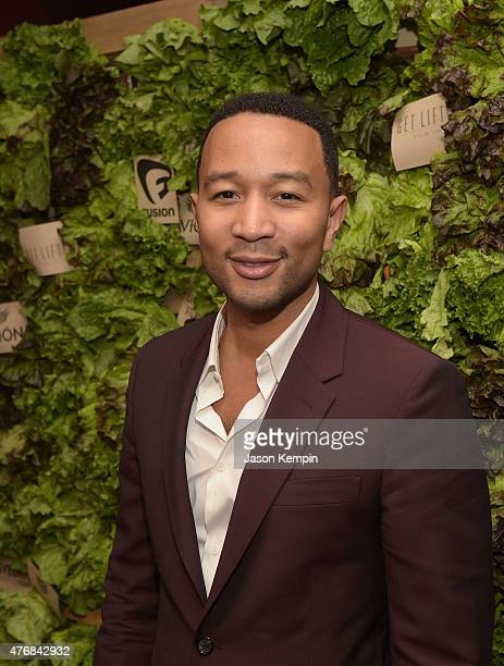 Musician John Legend attends the after party for the premiere of 'Can You Dig This' at the Conga Room on June 11 2015 in Los Angeles California