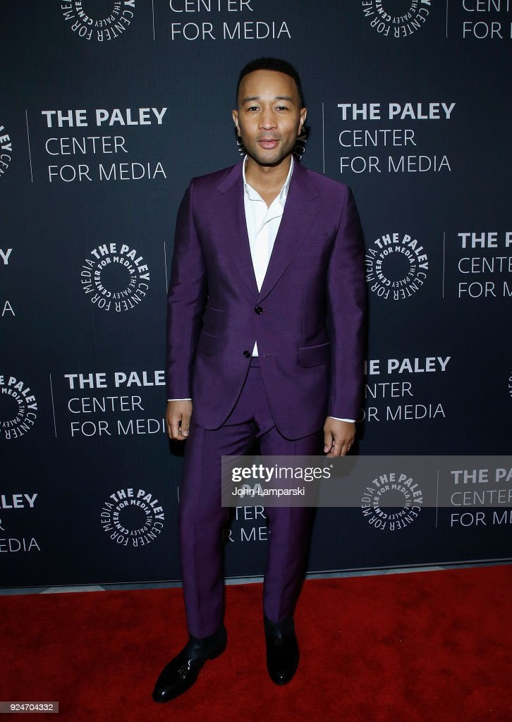 Musician John Legend attends The Paley Center for Media presents: Behind The Scenes: Jesus Christ Superstar Live In Concert at The Paley Center for Media on February 26, 2018 in New York City.