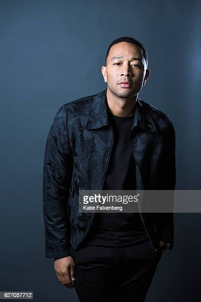 Musician John Legend is photographed for Los Angeles Times on November 16 2016 in Los Angeles California PUBLISHED IMAGE CREDIT MUST READ Katie...