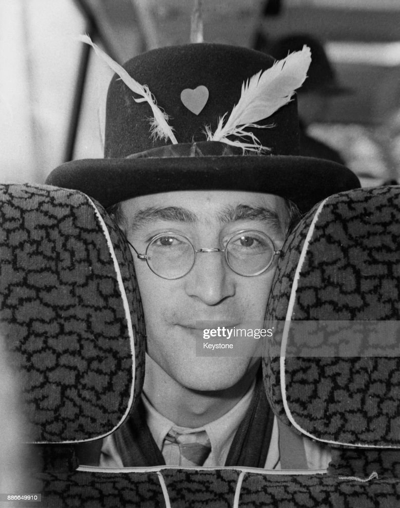 Musician John Lennon Of English Rock Band The Beatles During The News Photo Getty Images