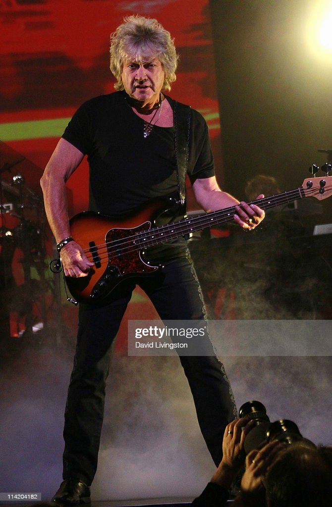 Musician John Lodge Of The Moody Blues Performs On Stage At The Nokia News Photo Getty Images