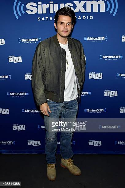 Musician John Mayer attends Andy Cohen SiriusXM celebrate the launch of Cohen's New Exclusive SiriusXM Channel Radio Andy at PHD Rooftop Lounge at...