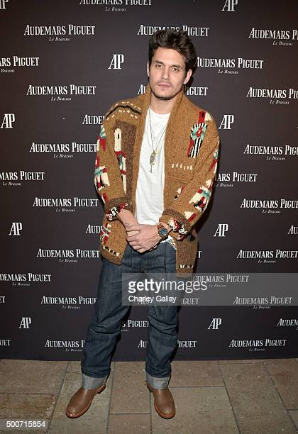 Musician John Mayer attends the Opening of Audemars Piguet Rodeo Drive at Audemars Piguet on December 9 2015 in Beverly Hills California