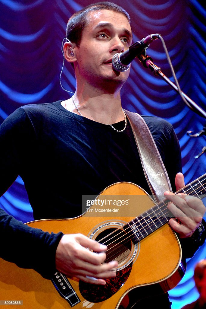 John Mayer Performs At The Shoreline Amphitheater Photos And Images