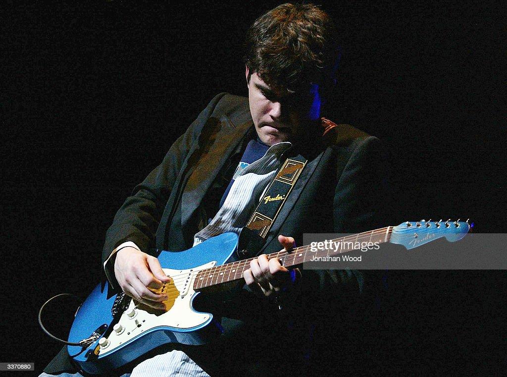 John Mayer in concert : News Photo