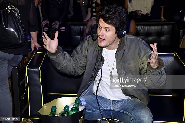 Musician John Mayer speaks with Andy Cohen SiriusXM to celebrate the launch of Cohen's New Exclusive SiriusXM Channel Radio Andy at PHD Rooftop...