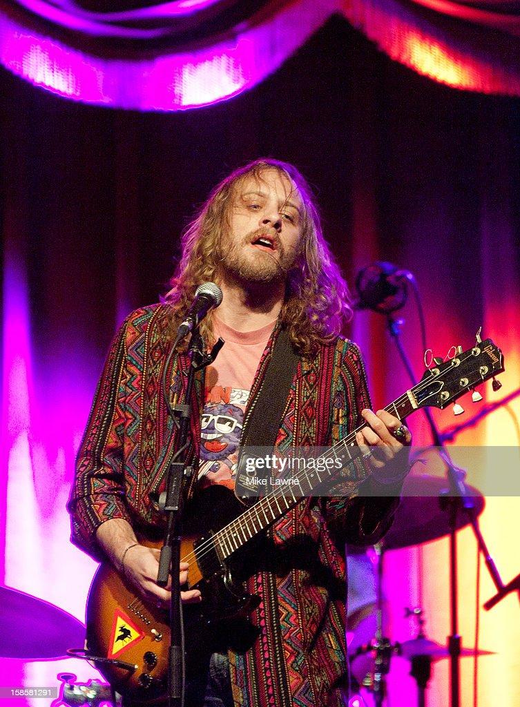 Musician John McCauley of Deer Tick performs at Brooklyn Bowl on December 19, 2012 in New York City.