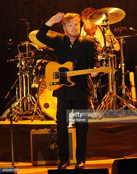 Musician John Mellencamp performs in concert at Carnegie Hall on April 20 2015 in New York City