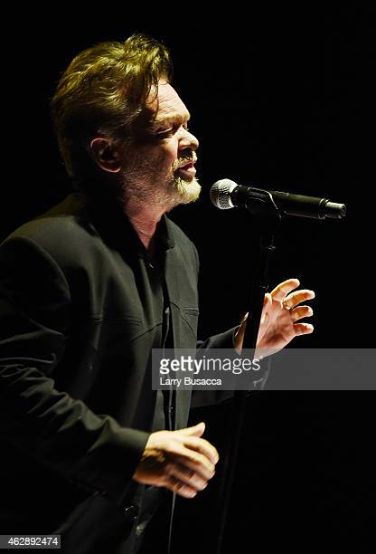 Musician John Mellencamp performs onstage at the 25th anniversary MusiCares 2015 Person Of The Year Gala honoring Bob Dylan at the Los Angeles...