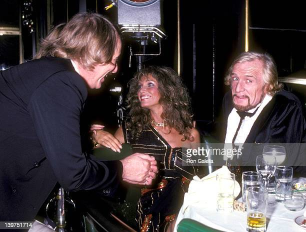 Musician John Phillips Actress Ann Turkel and Actor Richard Harris attend the Electra/Asylum Records' Party for Music Producer Richard Perry on...