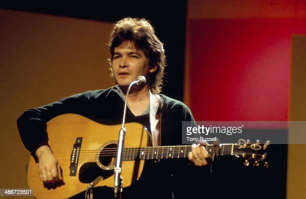 Musician John Prine on stage circa 19701975
