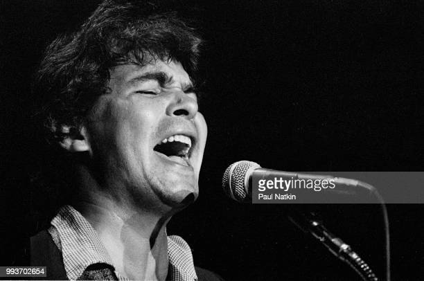 Musician John Prine performs on stage at the Park West in Chicago, Illinois, September 23, 1978.