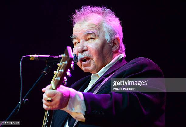 Musician John Prine performs onstage during day 3 of 2014 Stagecoach California's Country Music Festival at the Empire Polo Club on April 27 2014 in...