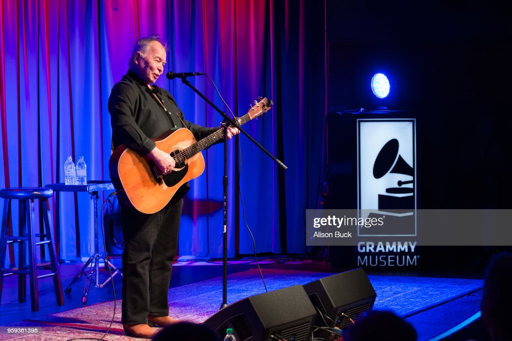 Musician John Prine performs onstage during The Drop: John Prine at The GRAMMY Museum on May 16, 2018 in Los Angeles, California.