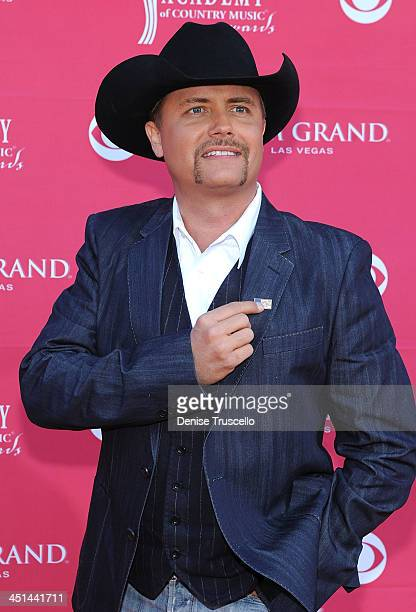 7d78b54aca665 Musician John Rich arrives at the 44th annual Academy Of Country Music  Awards held at the