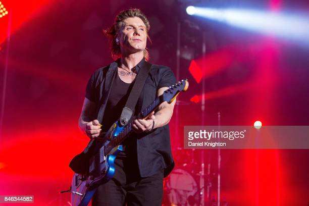Musician John Rzeznik of Goo Goo Dolls performs on stage at Cal Coast Credit Union Open Air Theatre on September 12 2017 in San Diego California