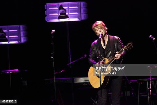 Musician John Rzeznik performs at the A Song Is Born 16th Annual GRAMMY Foundation Legacy Concert held at The Wilshire Ebell Theatre on January 23...