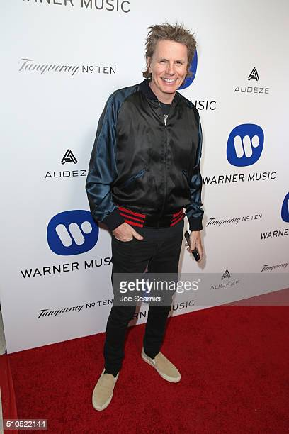 Musician John Taylor attends Warner Music Group's annual Grammy celebration at Milk Studios Los Angeles on February 15 2016 in Los Angeles California