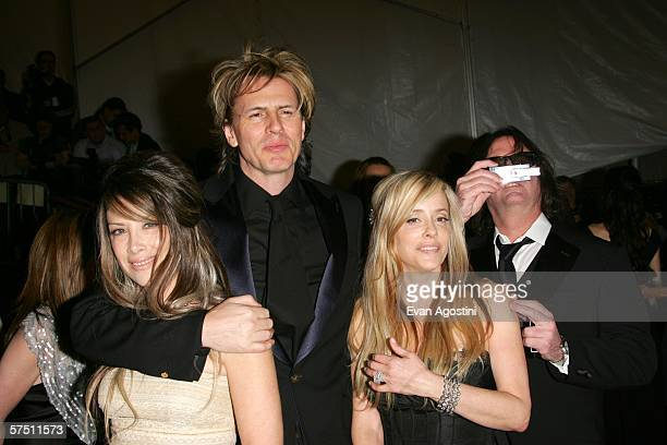 Musician John Taylor of Duran Duran and his wife Gela Nash attend the Metropolitan Museum of Art Costume Institute Benefit Gala Anglomania at the...