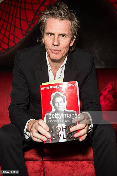 Musician John Taylor of Duran Duran attends his book signing at Cinespace on October 24 2012 in Los Angeles California