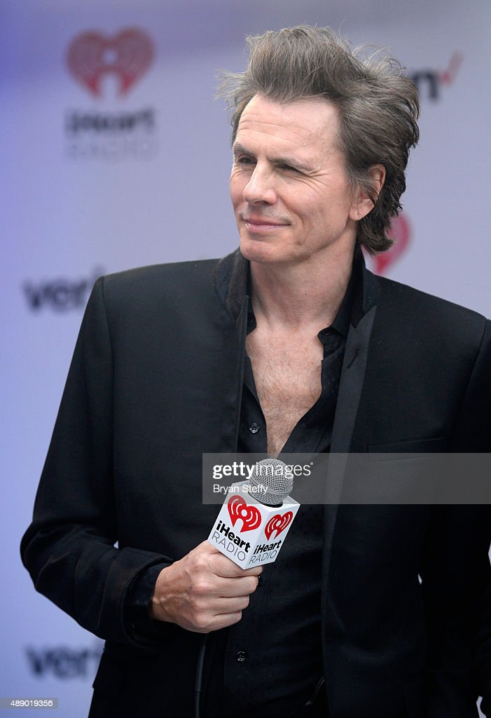 Musician John Taylor of Duran Duran attends the 2015 iHeartRadio Music Festival at MGM Grand Garden Arena on September 18, 2015 in Las Vegas, Nevada.