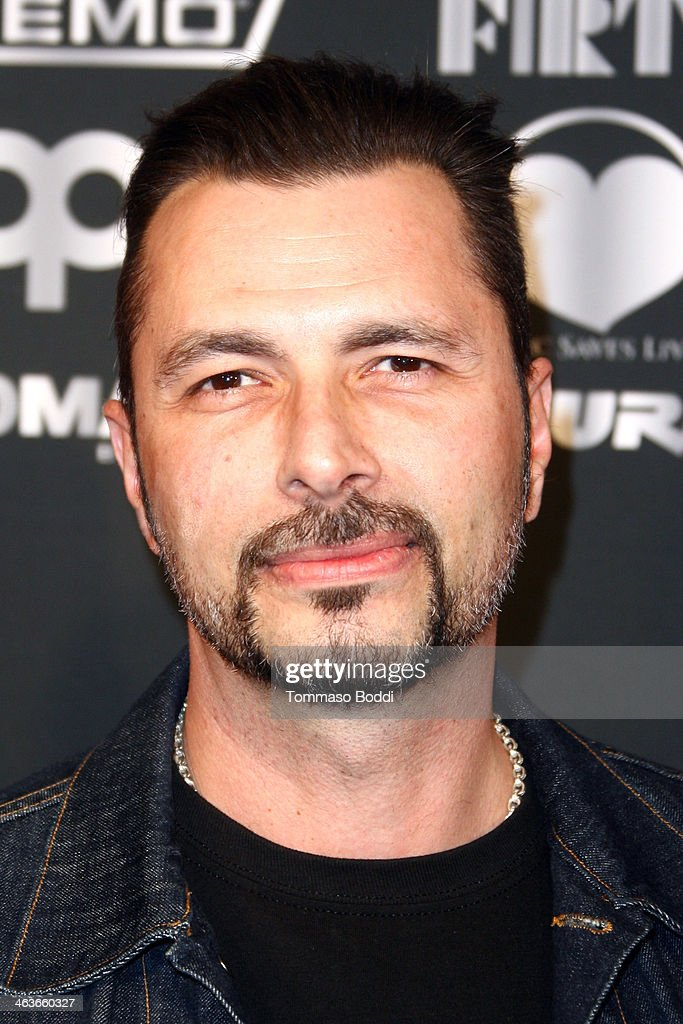Musician John Tempesta attends the Guitar Center's 25th annual Drum-Off grand finals held at Club Nokia on January 18, 2014 in Los Angeles, California.