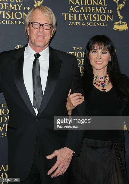 Musician John Tesh and Actress Connie Sellecca attend the 42nd Annual Daytime Creative Arts Emmy Awards at The Universal Hilton Hotel on April 24,...