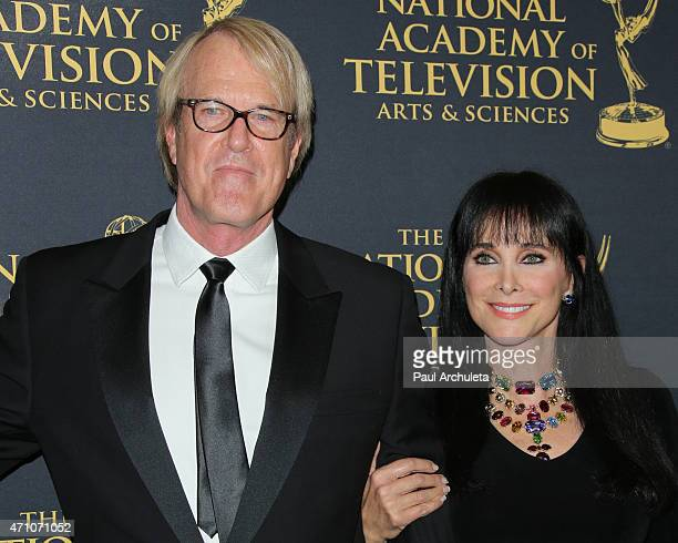 Musician John Tesh and Actress Connie Sellecca attend the 42nd Annual Daytime Creative Arts Emmy Awards at The Universal Hilton Hotel on April 24...