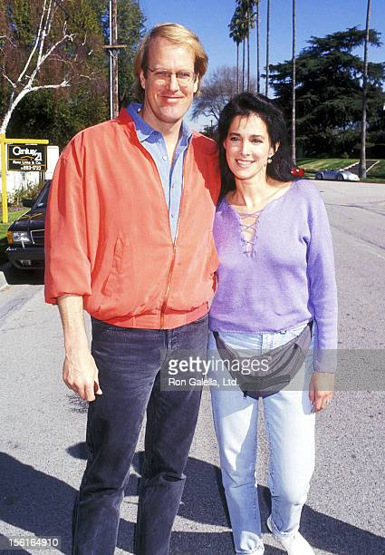 Musician John Tesh and Actress Connie Sellecca attend the Henry Winkler Hosts a Brunch to Celebrate the 11th Annual Celebrity Day at MacLaren's...