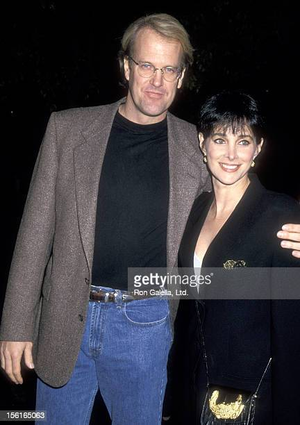 Musician John Tesh and Actress Connie Sellecca attend the Screening of the Television Concert Special - 'John Tesh: Live at Red Rocks' on February...