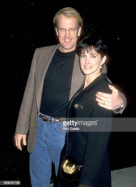 Musician John Tesh and Actress Connie Sellecca attend the Screening of the Television Concert Special 'John Tesh Live at Red Rocks' on February 23...