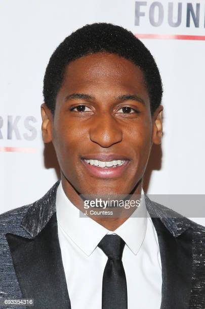 Musician Jon Batiste attends the 2017 Gordon Parks Foundation Awards Gala at Cipriani 42nd Street on June 6 2017 in New York City