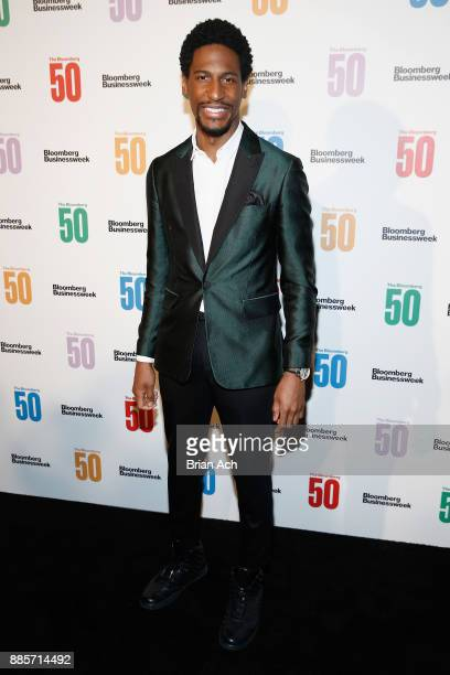 Musician Jon Batiste attends 'The Bloomberg 50' Celebration at Gotham Hall on December 4 2017 in New York City