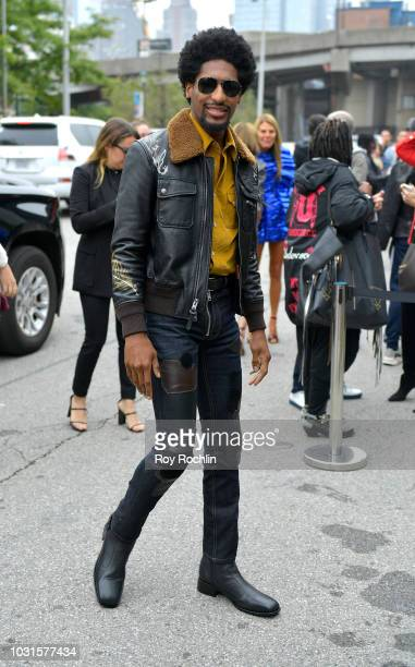 Musician Jon Batiste attends the Coach 1941 Runway Show during New York Fashion Week at Pier 94 on September 11 2018 in New York City