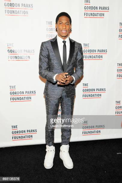 Musician Jon Batiste attends the Gordon Parks Foundation Awards Dinner Auction at Cipriani 42nd Street on June 6 2017 in New York City