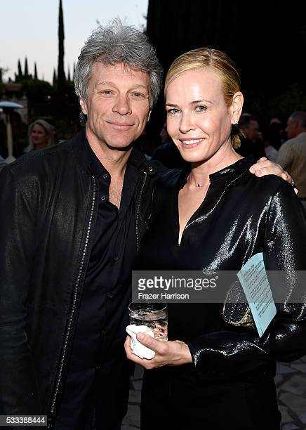 Musician Jon Bon Jovi and comedian Chelsea Handler attend The Heart Foundation 20th Anniversary Event honoring Discovery Land Company's Mike Meldman...